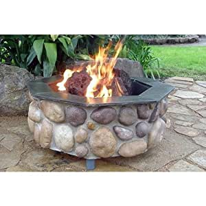 Firescapes The Colorado Octagonal Natural Gas Fire Pit