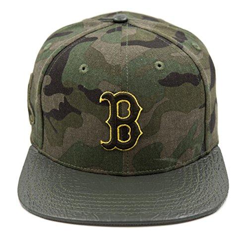 Pro Standard Men's MLB Boston Red Sox Logo Strapback Hat Camo -