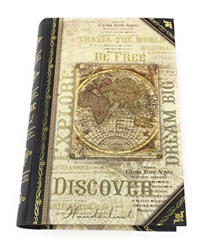 Punch Studio Explore The World Decorative Nesting Book Box Petite 67809