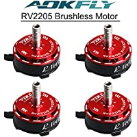 4PCS RV2205 2500KV RC Brushless Motor For FPV Racing Drones Multirotor Quadcopter 2CW 2CCW AOKFLY …