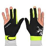 Man Woman Elastic Lycra 3 Fingers Gloves for