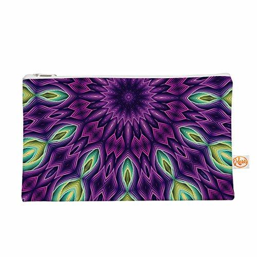 Kess eigene Sylvia Cook Typ mit–Purple Violett Grün Alles II Tasche, 21,3x 10,2cm (sc1081aep03)