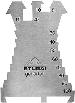 140x100 mm geh Stubai Anreißschablone Fiechtl 1,3 mm