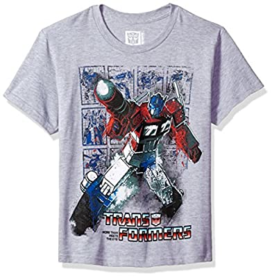 Transformers Big Boys' Optimus Prime Graphic T-Shirt