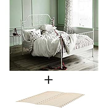 Amazon Com Ikea Queen Size Metal Country Style Bed Frame
