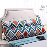 Vercart Sofa Bed Large Filled Triangular Wedge Cushion Bed Backrest Positioning Support Pillow Reading Pillow Office Lumbar Pad with Removable Cover Picture 06 78x7.9x19inch
