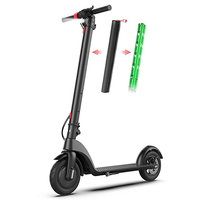 Amazon.com: HaoHZ - Patinete eléctrico portátil plegable de ...