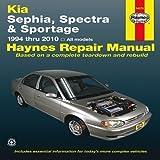 Kia Sephia, Spectra & Sportage automotive repair manual (Haynes automotive repair manual series) by Haynes, J.J. (2011) Paperback