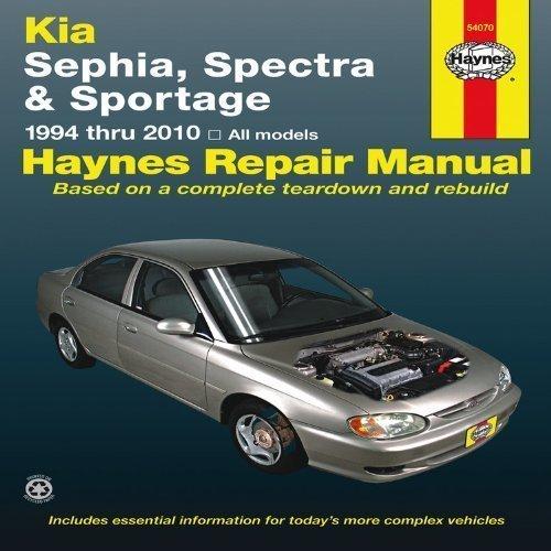 Download Kia Sephia, Spectra & Sportage automotive repair manual (Haynes automotive repair manual series) by Haynes, J.J. (2011) Paperback PDF