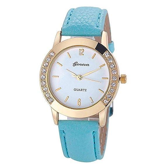 Scpink Reloj para Mujer, Relojes exclusivos para Dama de relojería analógicos Relojes para Mujeres Relojes para Mujeres Ocasionales, Caja de dial Redonda ...