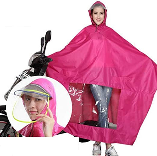 LULUDP Chubasqueros Impermeable for hombre y mujer, bicicleta ...