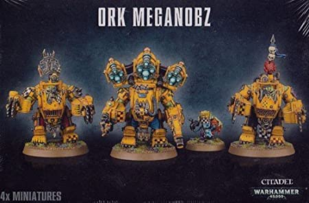Games Workshop Ork Meganobz Warhammer 40K by