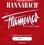 CUERDAS GUITARRA FLAMENCA - Hannabach (827/SHT) Roja (Juego Completo)