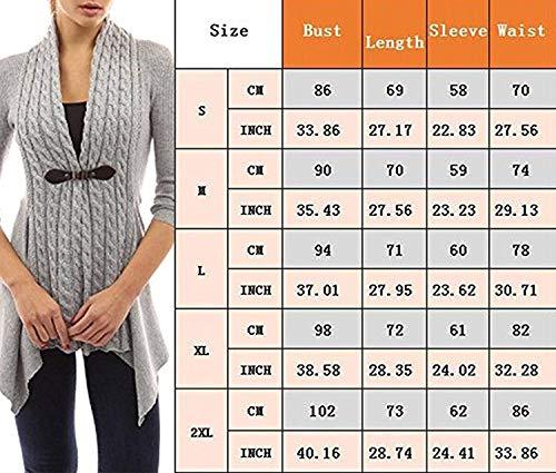 Irrégulier Automne Elégante Chic Manteau Tricoter En Lilas Hiver Femme Uni Tricot Veste Manche Manches Longues Fit Fashion Sweater Mode Slim Cardigan Outerwear Vintage Loisir 1C7zqX4n