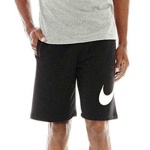 nike club swoosh shorts
