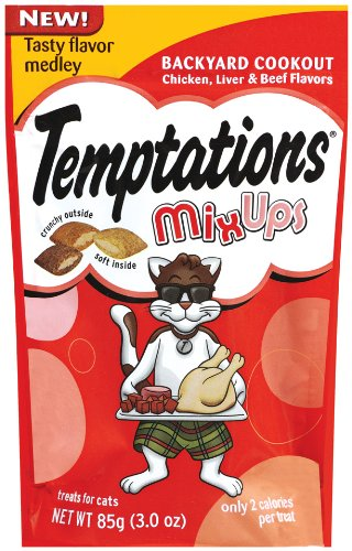 Whiskas Temptations Mixups, Backyard Cookout, 3-Ounce (Pack of 12) For Sale