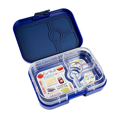 yumbox leakproof bento lunch box container blue in the. Black Bedroom Furniture Sets. Home Design Ideas