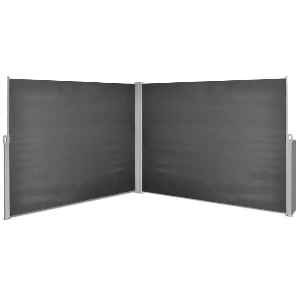 Tidyard Ausziehbare Seitenmarkise 180x600 Cm Markise Standmarkise