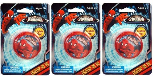 Spiderman Light Up Yo Yo x 3 by Spider-Man