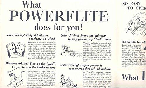 Review 1954 Plymouth Powerflite Auto