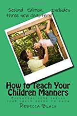 How to Teach Your Children Manners: Essential life skills your child needs to know
