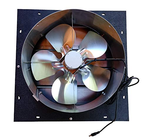 Western Harmonics Solar DC Powered Shutter Exhaust Fan by Western Harmonics (Image #1)