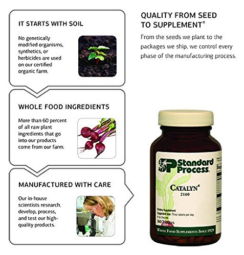 Standard Process - Cellular Vitality - Vitamin B1, B2, B6, Folate, B12, Biotin, CoQ10, Supports Healthy Cellular Processes and Provides Antioxidant Activity, Gluten Free and Vegetarian - 90 Capsules by Standard Process (Image #5)