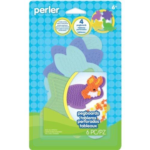 Perler Star/Dinosaur/Bunny/Daisy Beads Pegboards (Small) by (Daisy Peg)