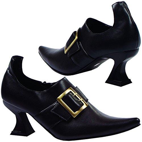 Hazel Adult Costume Shoes - Size (Hazel Black Adult Shoes)