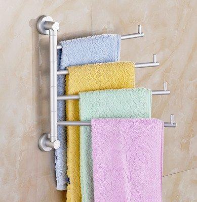 QUEENS Toallero toallero/Actividades/Toallero , 4,toallas y toallas para baño anillos