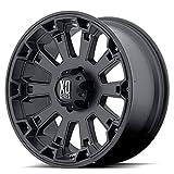 xd series 18 - KMC Wheels XD Series  Misfit Wheel with Matte Black Finish (18x9