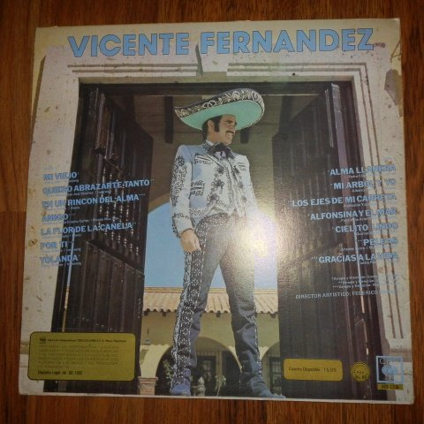 Vicente Fernandez Le Canta a America Latina (Cbs Columbia // Vinyl) by CBS Columbia