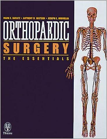 Orthopaedic Surgery: the Essentials: 9780865777798: Medicine
