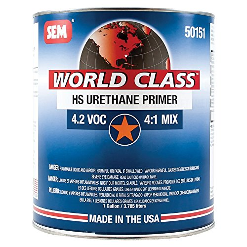 - SEM 50151 World Class HS Urethane Primer - 1 Gallon