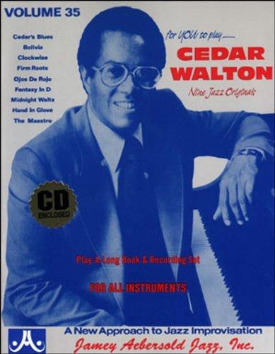 Jamey Aebersold Cd (Vol. 35, Cedar Walton (Book & CD Set))