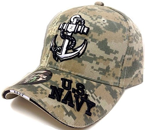 Anchor United States Navy Digital Camo Camouflage Hat Cap