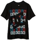 DC Big Boys' Square T-Shirt, Black, X-Large