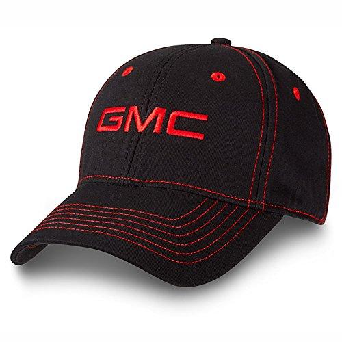 Amazon.com   GMC Contrast Red Stitch Black Baseball Cap   Everything Else 056e0bfa715