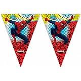 """Wimpel-Girlande """"Der ultimative Spiderman"""" 230 cm"""