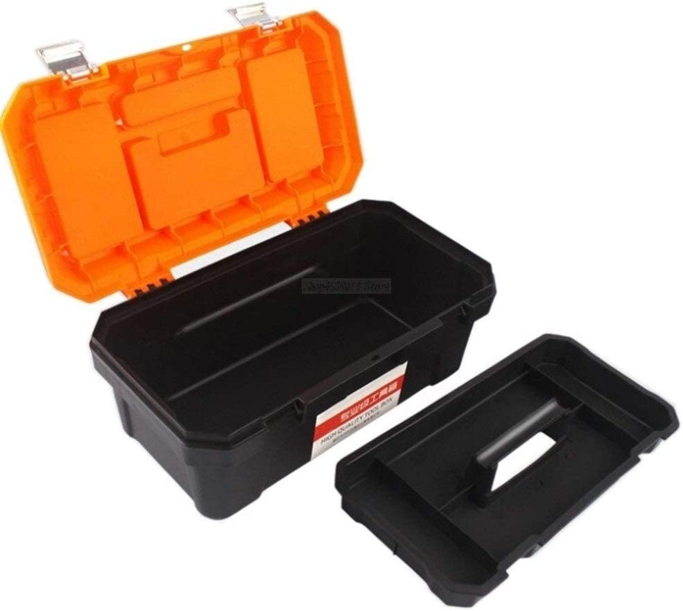 Tool box Tool Box Portable Large Storage Tool Case Components Woodworker Electrician Box High Quality Home Hardware Parts Case toolbox (Color : 405x210x190mm) 405x210x190mm