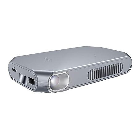 Proyector portátil proyector WiFi doméstico pequeño 1080P portátil ...