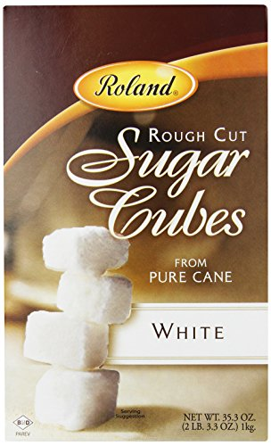 Roland Sugar Cubes, Rough Cut White, 35.3 Ounce (Pack of 2)