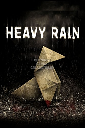 CGC Huge Poster - Heavy Rain Cover PS3 - HIRA001 )