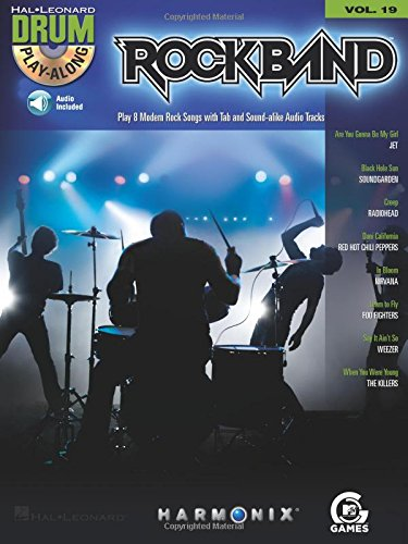 Rock Band - Modern Rock Edition - Drum Play-Along Volume 19 Bk/CD (Along Band Play Songbook)
