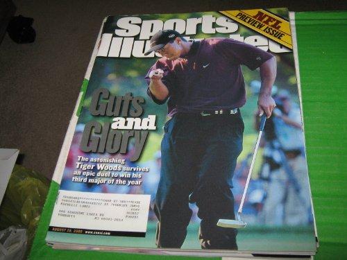 2000 Sports Illustrated Magazine - Sports Illustrated Magazine (Tiger Woods...Guts & Glory, August 28 , 2000)