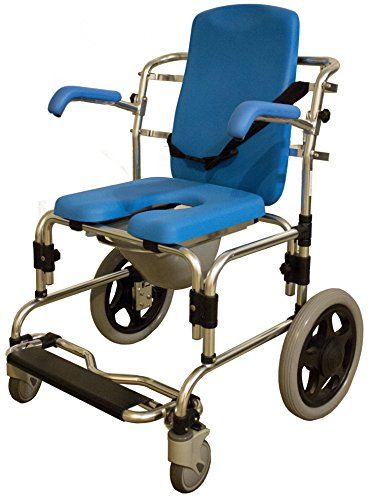 Baltic Professional Transport Shower/Commode Chair-PADDED by Platinum Health (Image #3)