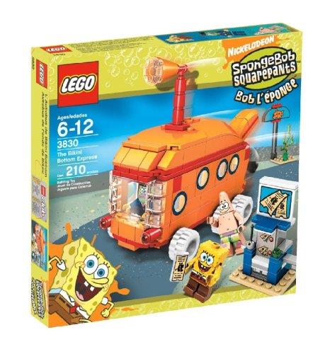 LEGO SpongeBob SquarePants Bikini Bottom Express (Spongebob Bottom Adventures Squarepants Bikini)