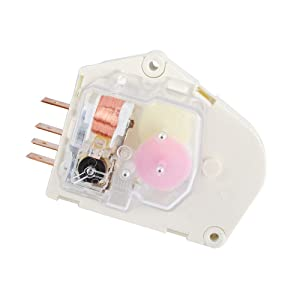 215846602 Refrigerator Defrost Timer Replacement Part Compatible with Frigidaire & Kenmore Refrigerators Replaces 215846606 240371001 241621501 AP2111929 PS423801