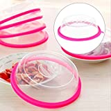 Wall of Dragon Plastic Food Covers Microwave Oven Heated Fridge Keep Fresh Container Lid Table Oil Dishes Dustproof Kitchen Tools