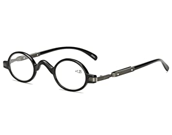 c02b2deaec Agstum Readers Mens Womens Vintage Small Oval Round Reading Glasses (+2.50